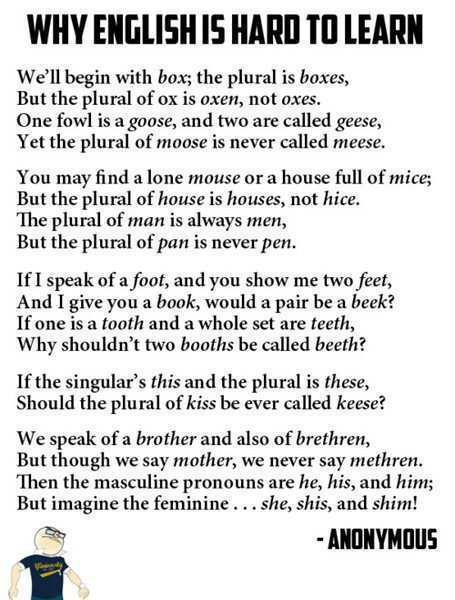 Why English is Hard to Learn Poem.jpg, please right-click, Save As... to store locally
