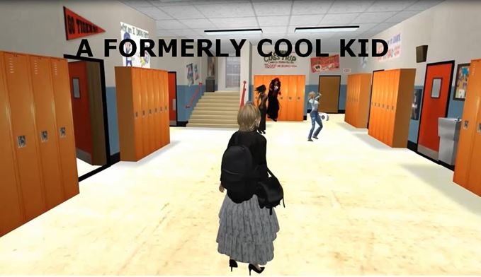 Sample picture from A Formerly Cool Kid video on YouTube, please click to open the link