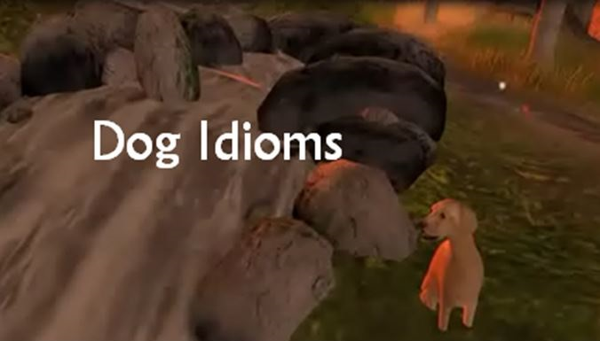 Dog Idioms teaser image from a Dog Idioms video on YouTube, please click to follow the link