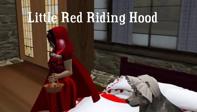 Teaser image for Little Red Riding Hood video on YouTube, please click to follow the link